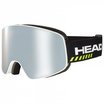 Маска HEAD HORIZON RACE DH + SpareLens UNISEX + доп линза white/black/silver-brown
