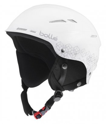 Шлем Bolle B-RENT SHINY WHITE & SILVER
