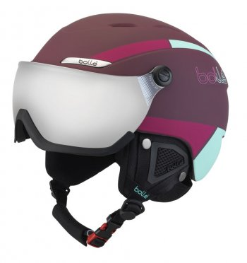 Шлем Bolle B-YOND VISOR Cherry & Mint with Silver Gun visor Cat 3