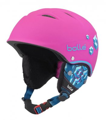 Шлем Bolle  B-FREE Soft Neon Pink Blocks