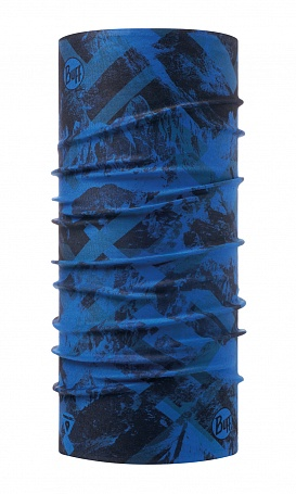 Бандана Buff THERMONET MOUNTAIN TOP CAPE BLUE
