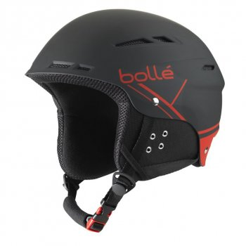 Шлем Bolle B-FUN SOFT BLACK & RED