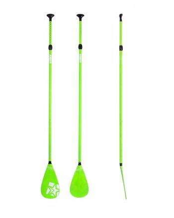 Весло для САПборда JOBE Paddle Fiberglass 3pc Green STD