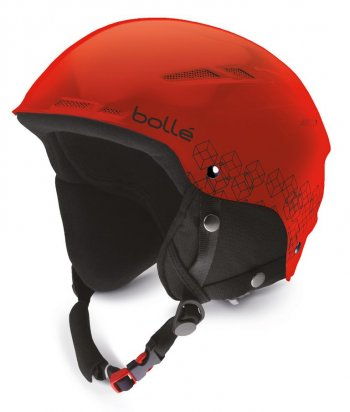 Шлем Bolle B-RENT JR  SHINY RED  & BLACK