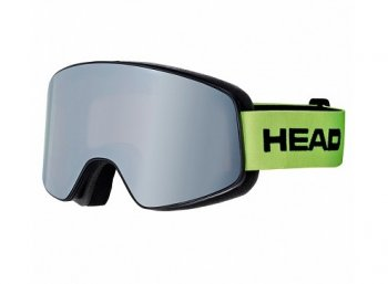 Маска HEAD HORIZON RACE + доп линза white/lime