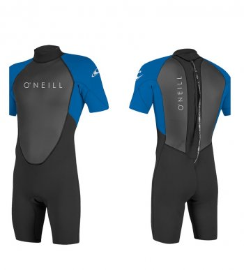 Гидрокостюм муж. O'NEILL REACTOR-2 2MM BACK ZIP S/S SPRING BLK/OCEAN