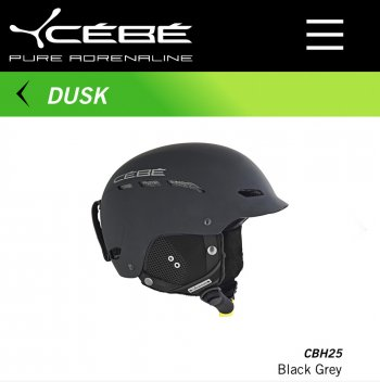 Шлем CEBE DUSK BLACK GREY