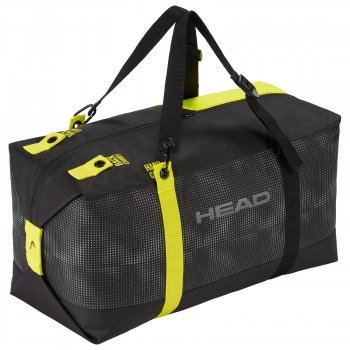 Cумка – рюкзак HEAD Duffle Bag 45 литров anthracite/black/neon yellow