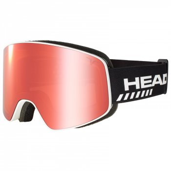 Маска HEAD HORIZON TVT RACE + SpareLens UNISEX + доп линза white/black/TVT red