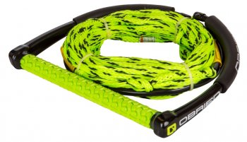 Фал + рукоятка O'BRINE 4-Section Poly-E Wake Combo Green & Black