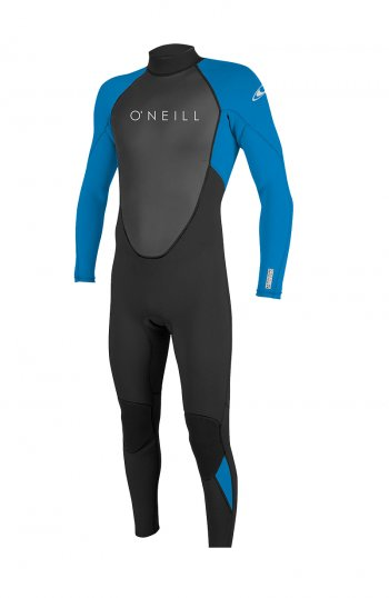 Гидрокостюм дет. O'NEILL REACTOR-2 3/2 BACK ZIP FULL BLK/OCEAN