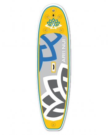 "САПборд ARI""INUI Biggie 10'2""x33""x5"" yellow/blue"