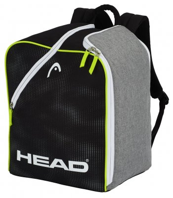 Рюкзак для ботинокHEAD Ski Boot Backpack 32 литра antracite/grey-neon yellow