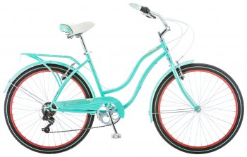 Велосипед SCHWINN Perla 7sp 26″ Light Blue/Red