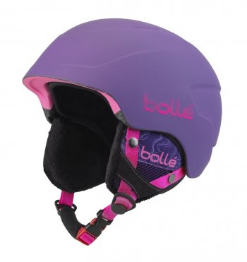 Шлем Bolle B-LIEVE Soft Purple Spray