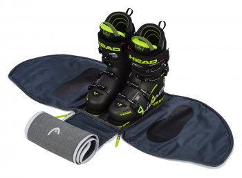 Сумка трансфрмер для ботинок HEAD Ski Boot Bag 30 литров antracite/grey-neon yellow
