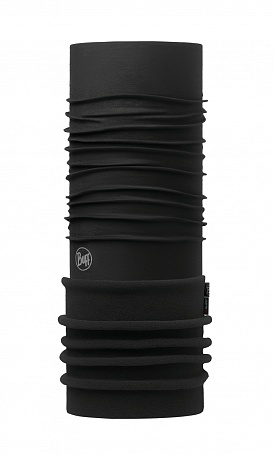 Бандана Buff POLAR SOLID BLACK