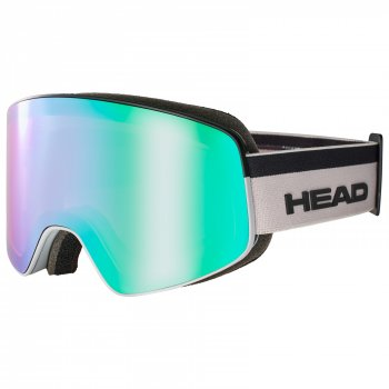 Маска HEAD HORIZON FMR + SpareLens UNISEX + доп линза white/white-black/FMR blue-green