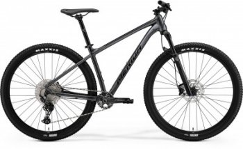Велосипед '21 Merida Big.Nine 400 Antracite/Black