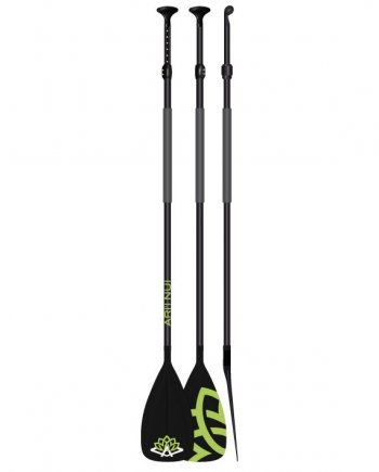"Весло для САПборда ARI""INUI Polycarb Adjust 170-220 black/green"